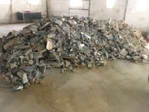 Debris removal service