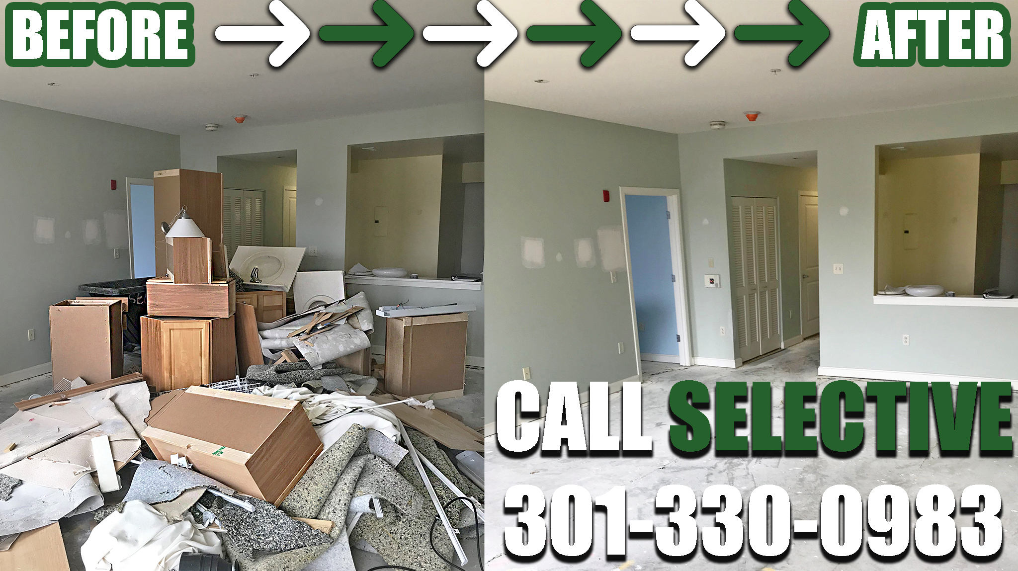 Baltimore post construction cleaning
