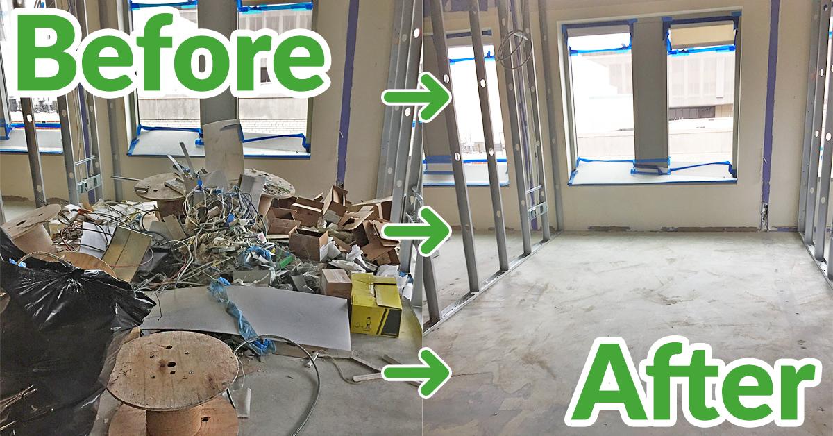 Building clean out service Washington DC