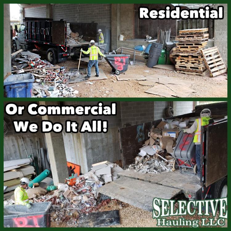 Bulk Pick up Clean out e1593024754844 - Dump Truck Service