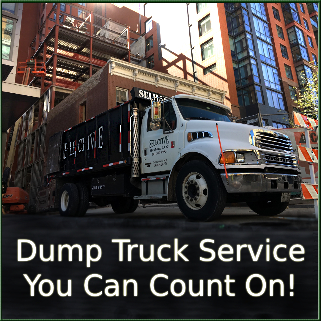 Construction Debris Removal Montgomery County MD