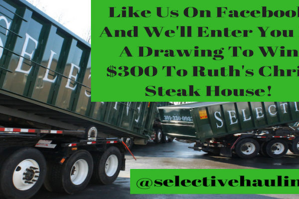 Construction Hauling Facebook Contest 600x400 - Win $300 To Ruth's Chris Steak House!