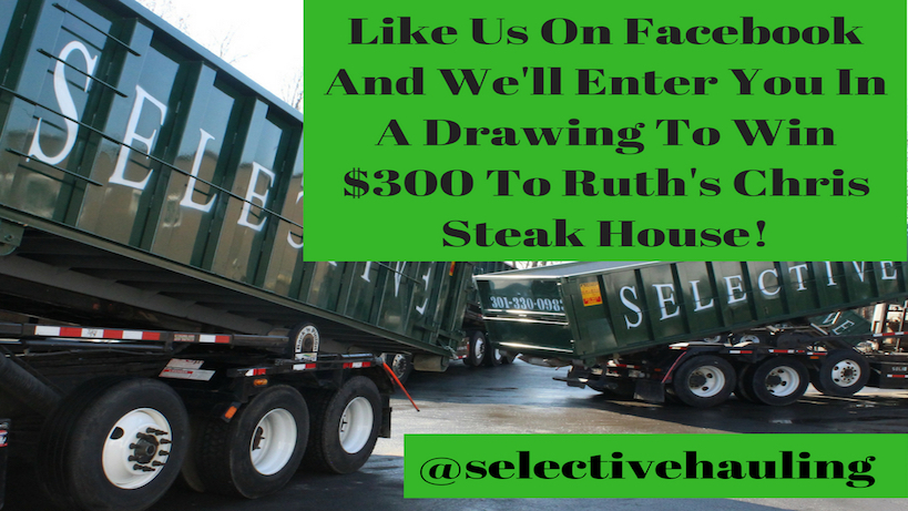 Construction Hauling Facebook Contest - Win $300 To Ruth's Chris Steak House!