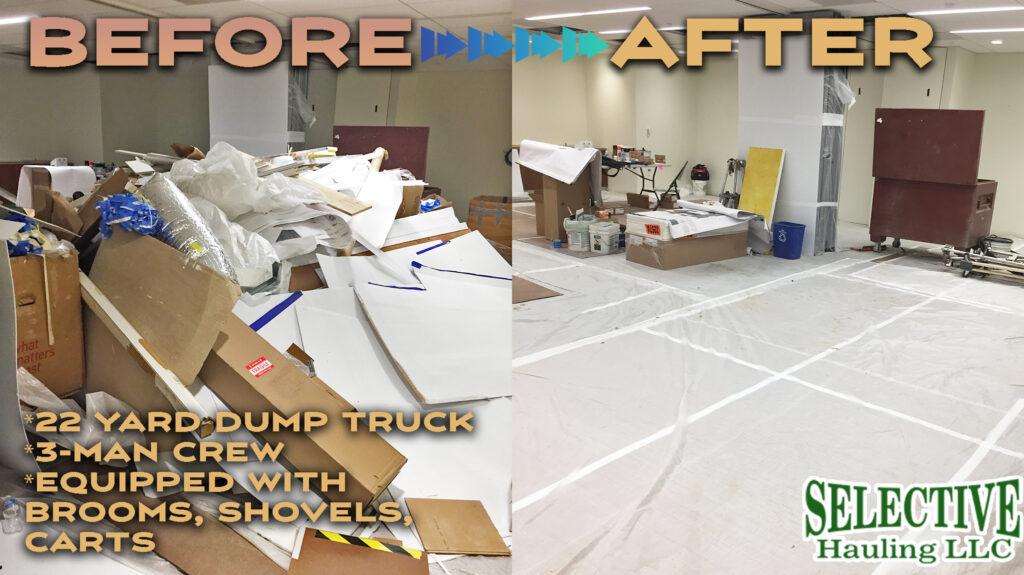 Construction debris removal dc 1024x575 - Why should you choose our construction debris removal company for Washington D.C. job sites?