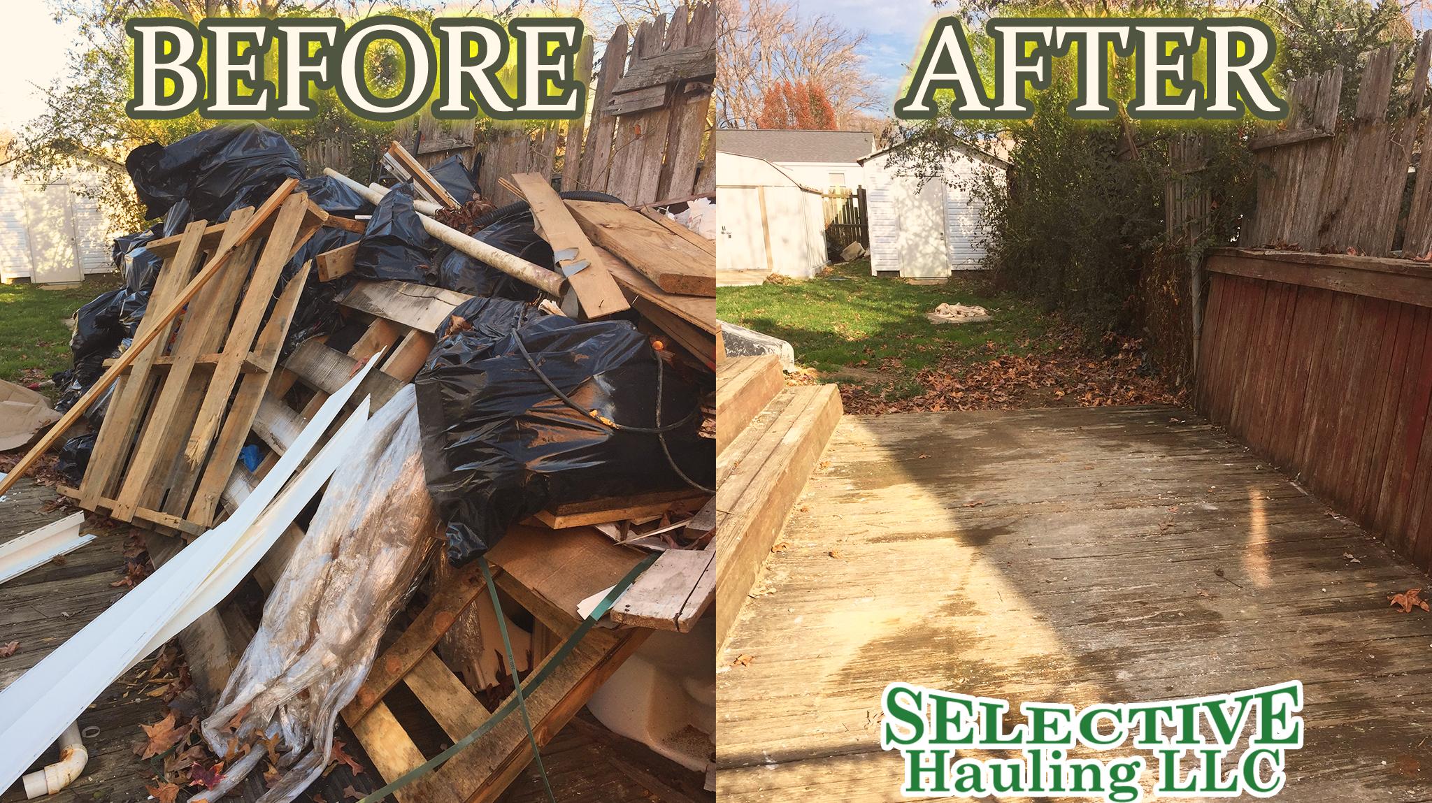 Debris removal Frederick MD