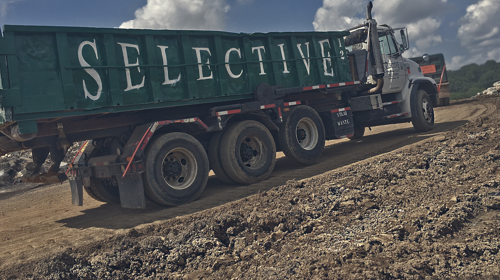 Dirt dumpster rental Herndon VA