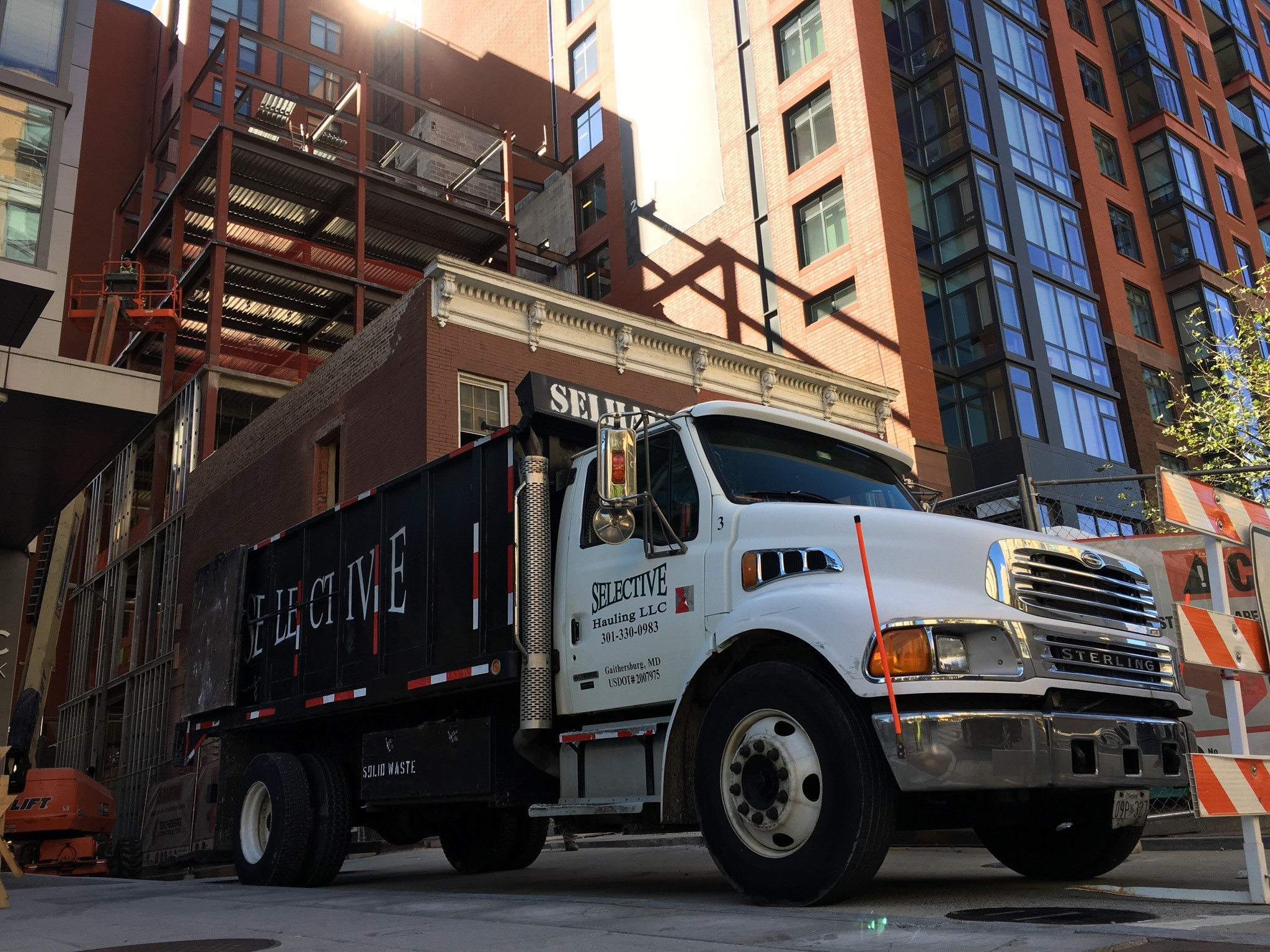 Dump Truck Service Dumpster Rental Washington DC