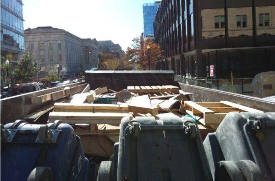 Dump Truck Service Dumpster Rental Washington DC 4