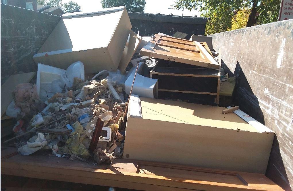Dump Truck Service - Dumpster rental silver spring md 1