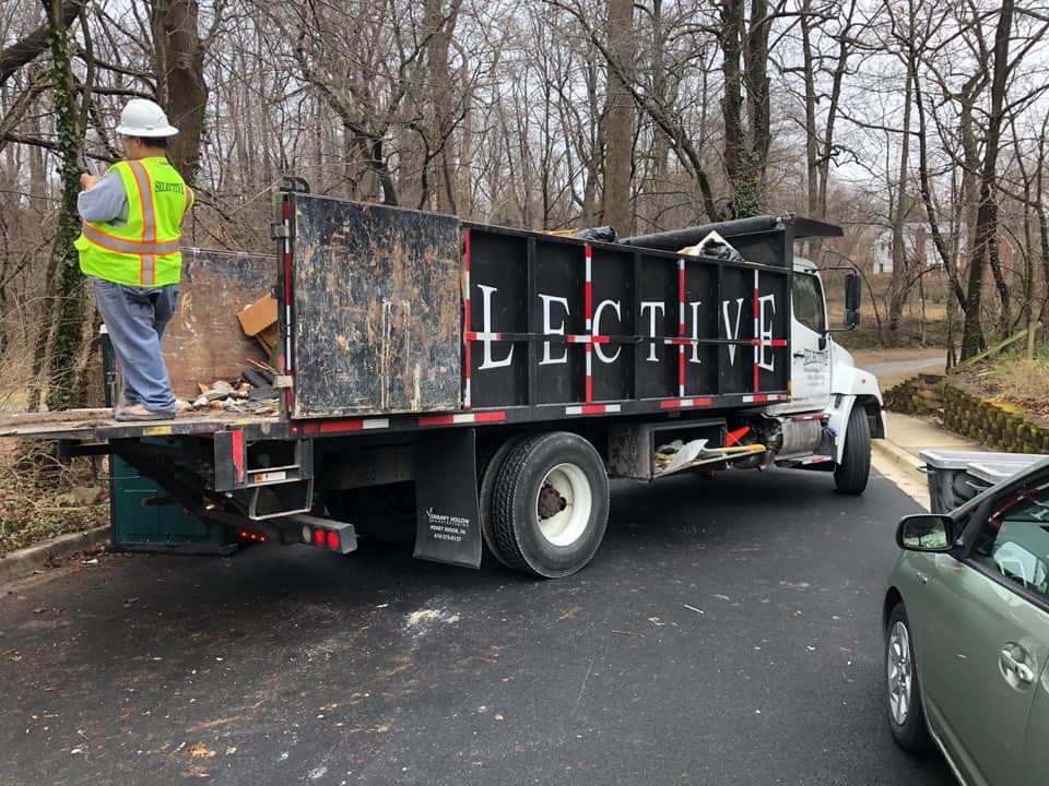 Dump truck debris removal hauling washington dc