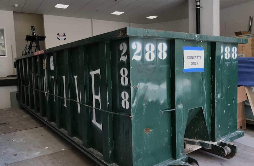 Dumpster Rental for Demolition 861x563 - Part One - Dumpster Rental for the Weekend: 3 Common Issues