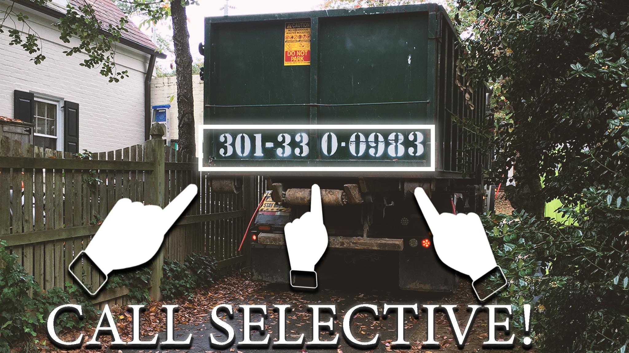 Dumpster rental Burke Virginia