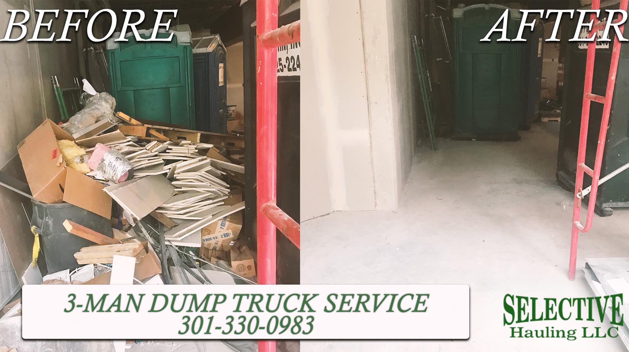 Manassas junk removal service