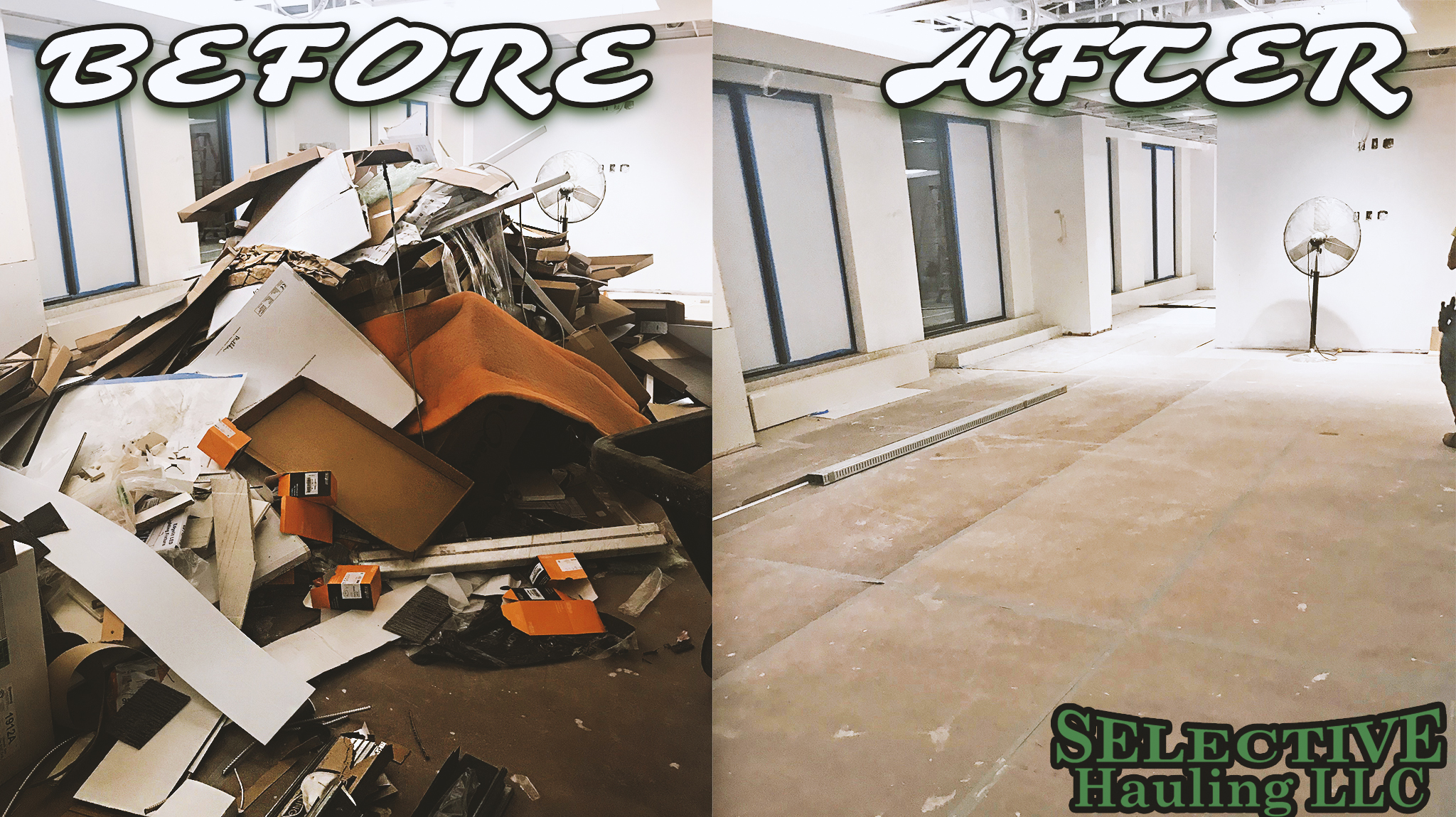 Post construction clean up Northern Virginia