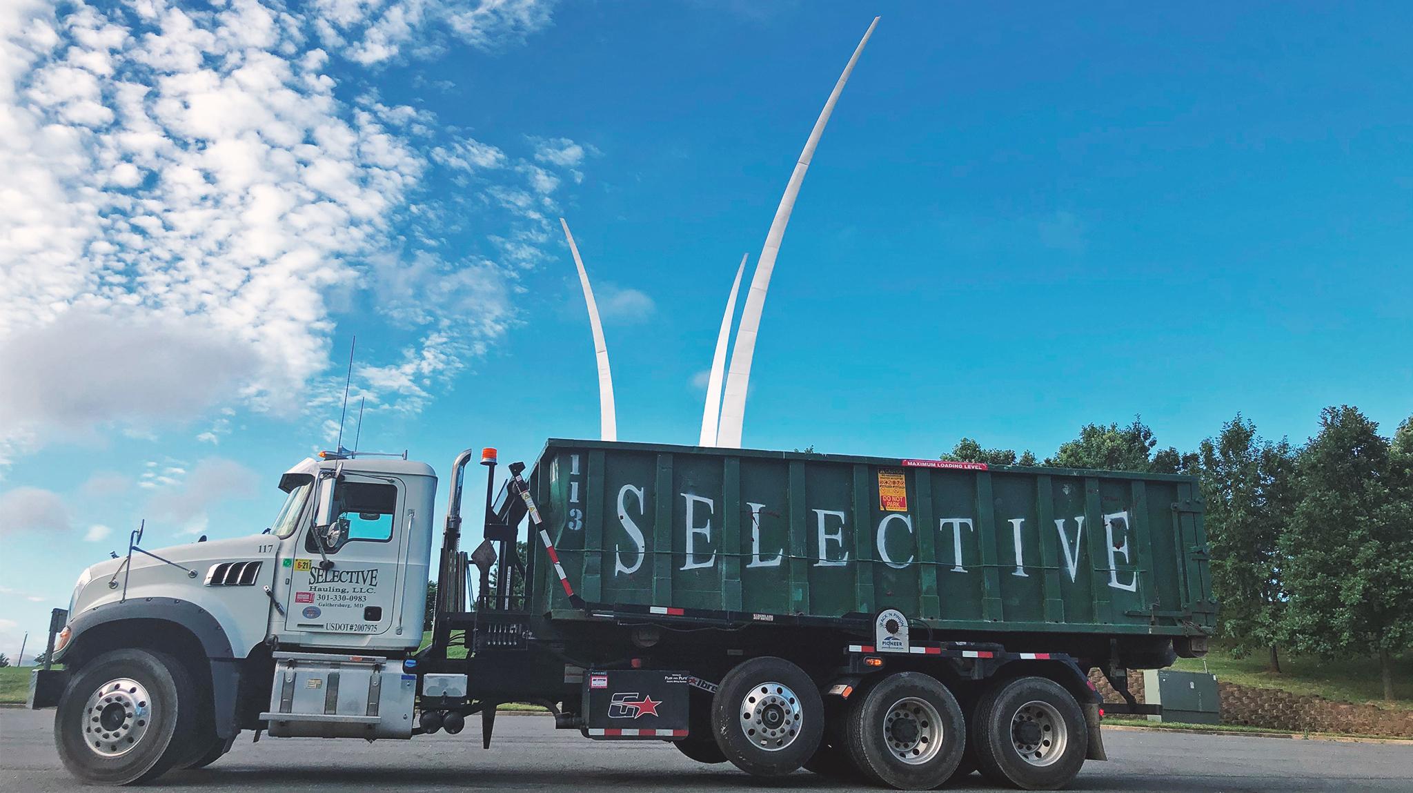 Rent a roll off dumpster Reston Virginia