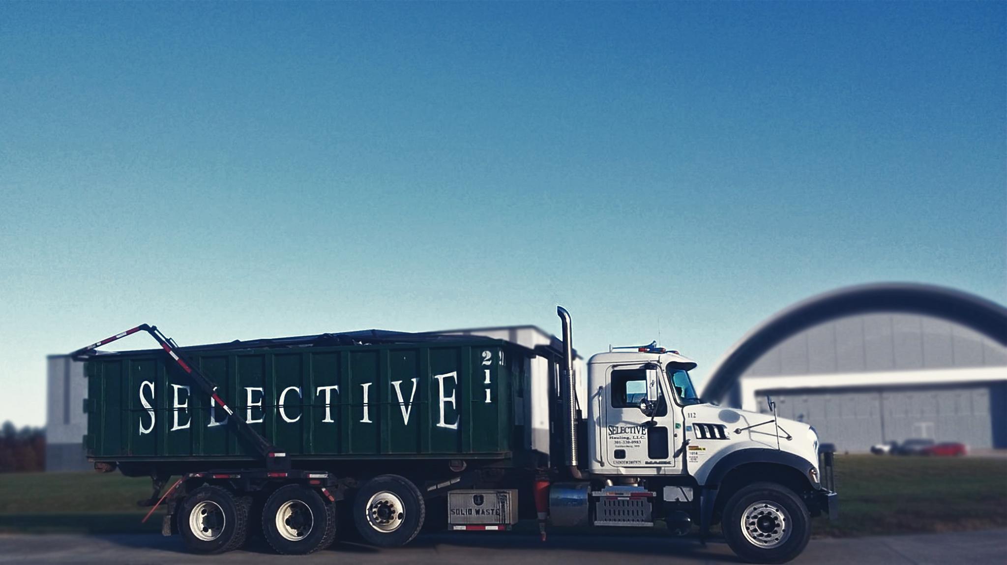 Roll off container rental Burke VA