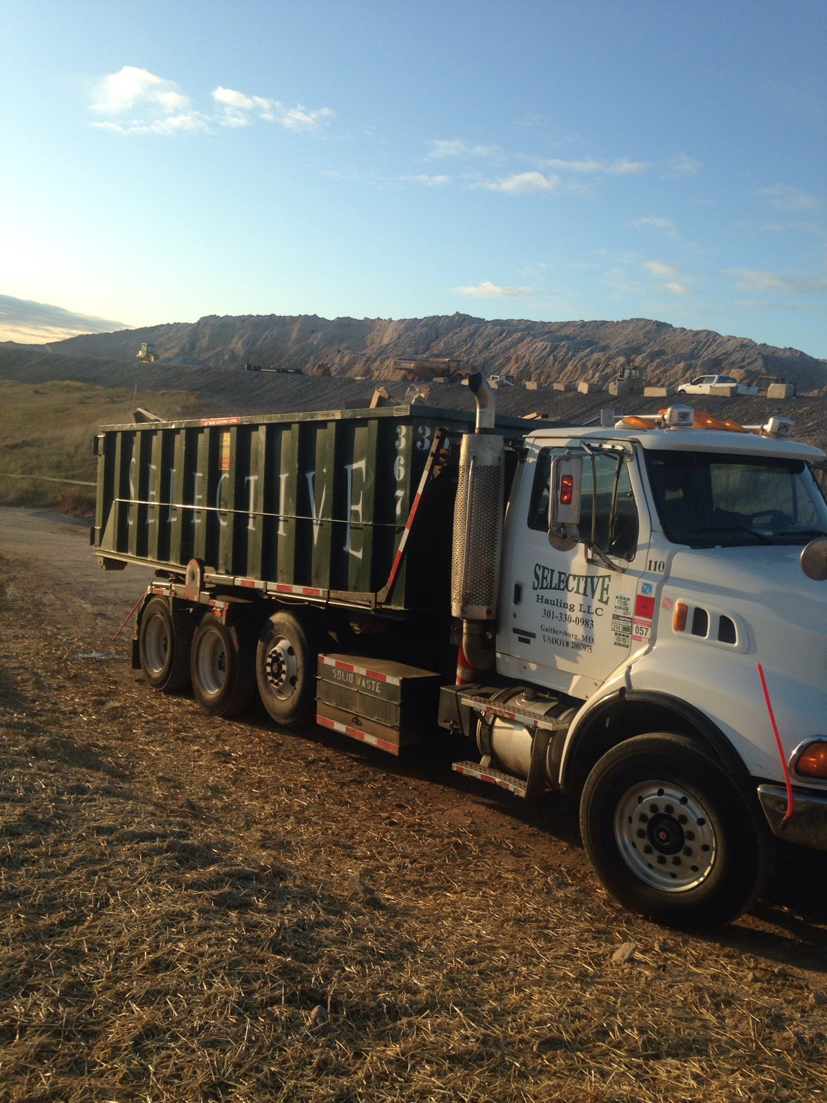 Roll off truck mountains - Roll Off Dumpsters