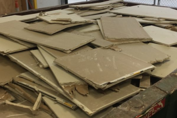 drywall recycling 1 copy 600x400 - LEED V4 Project Update