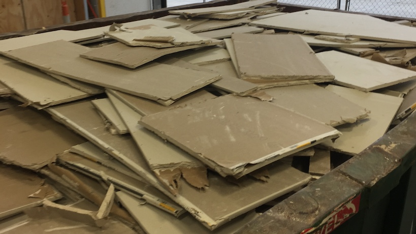 drywall recycling 1 copy - LEED V4 Project Update