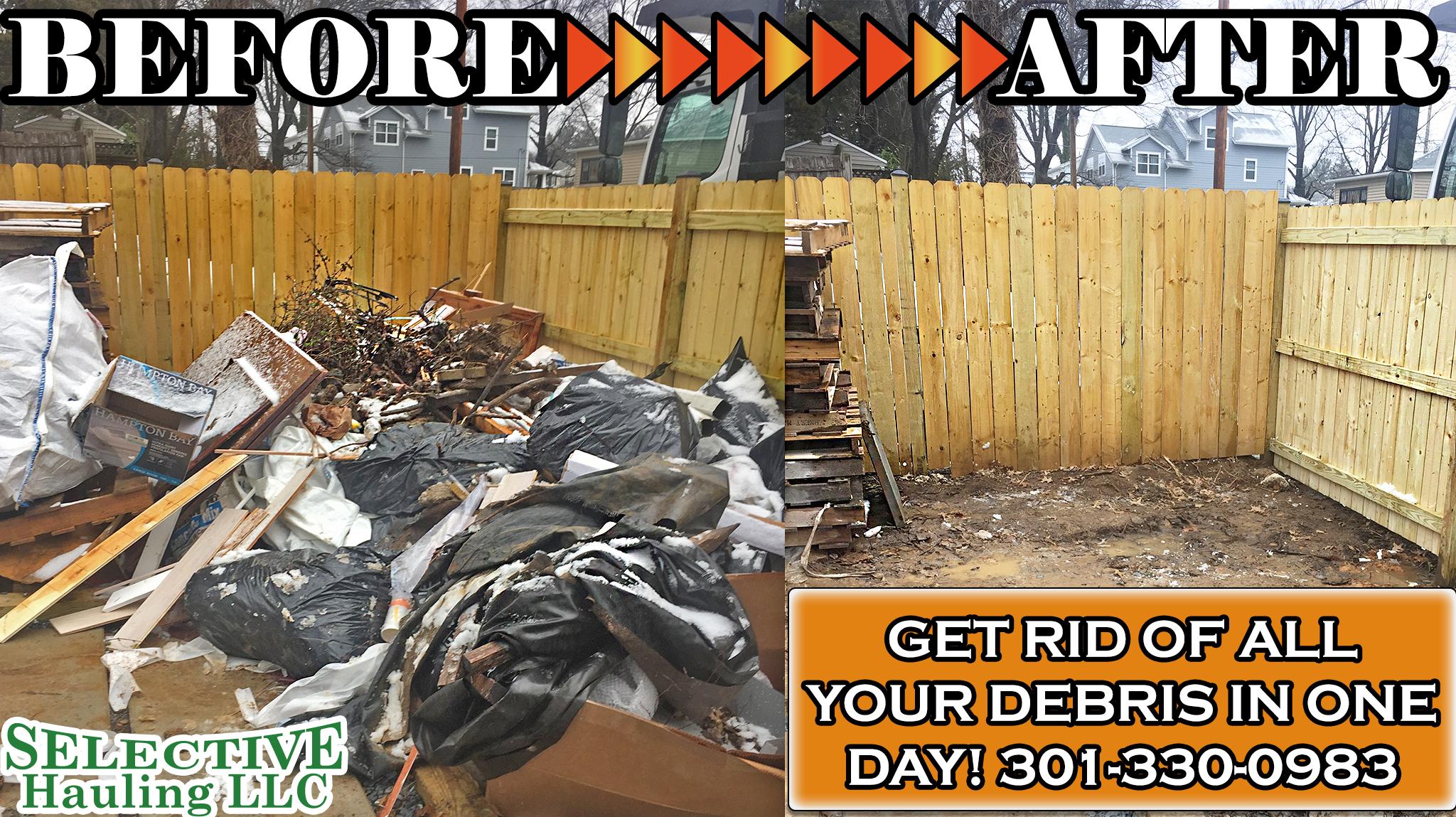 junk removal service Manassas VA