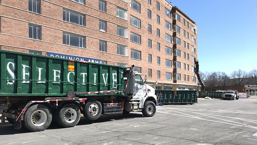 Construction Waste Dumpster Rental