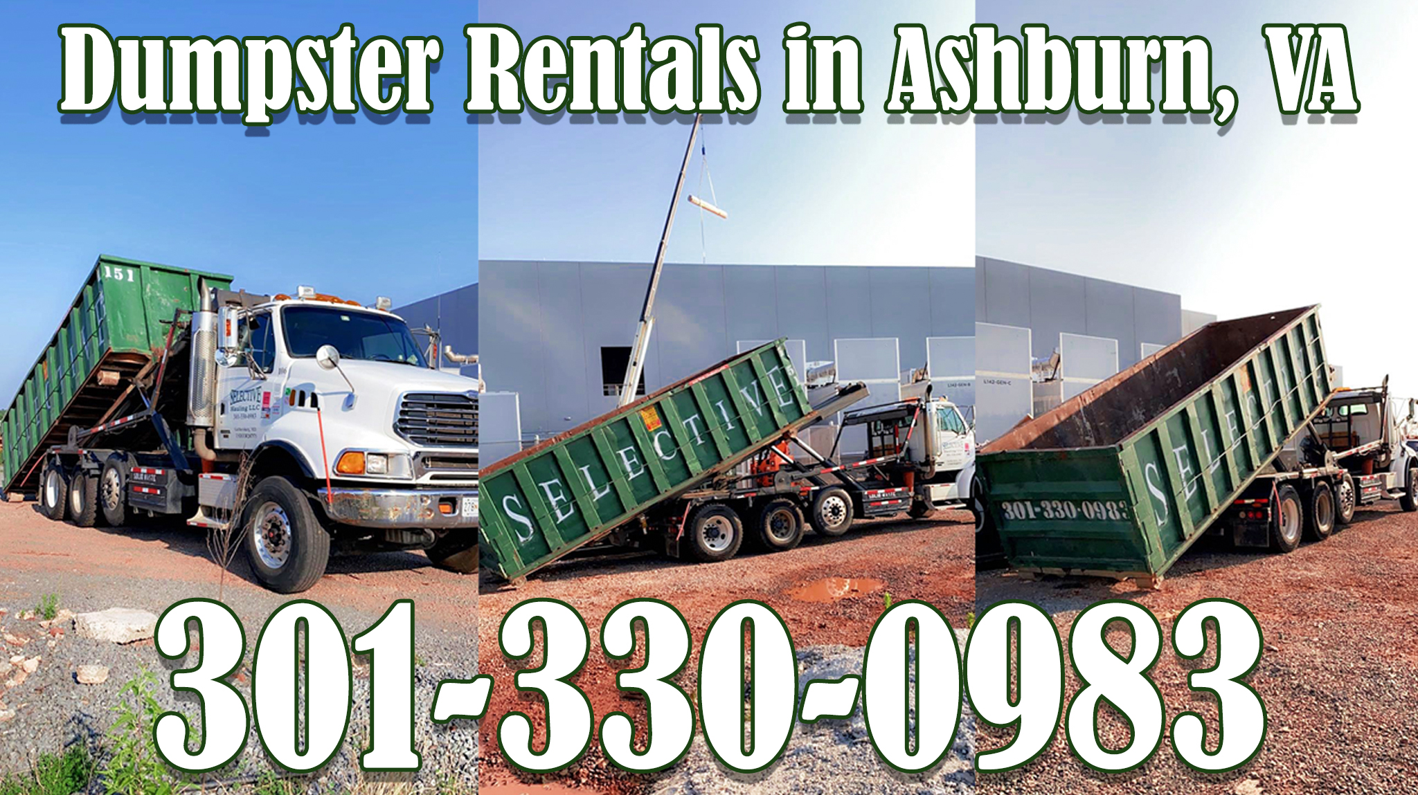 roll off container rental ashburn virginia