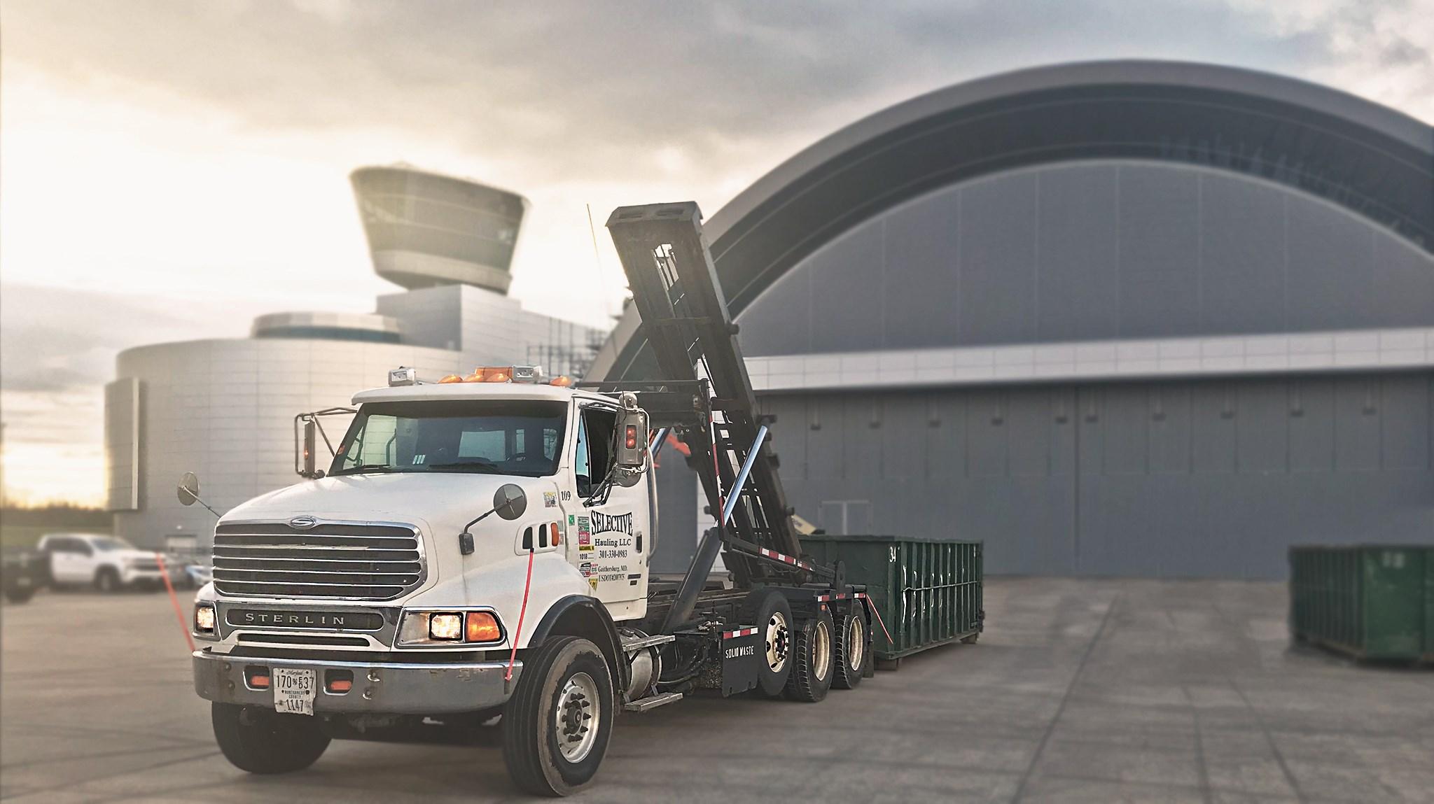 roll off dumpster rental Arlington VA